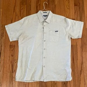 Eddie Bauer Short Sleeve Button-Up, L